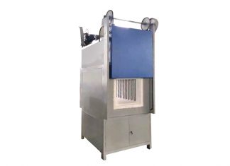 double door muffle furnace