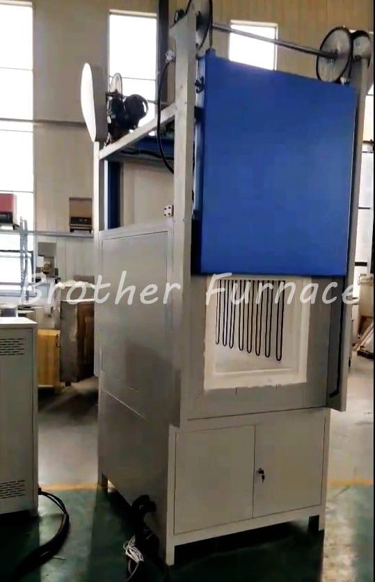 double door muffle furnac 1700