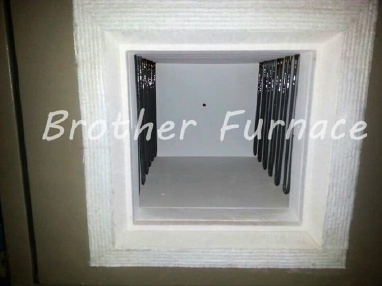 muffle furnace 1800c mosi2 heating elements