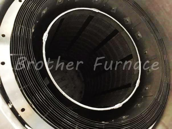 Vacuum Tungsten Coil Furnace Chamber