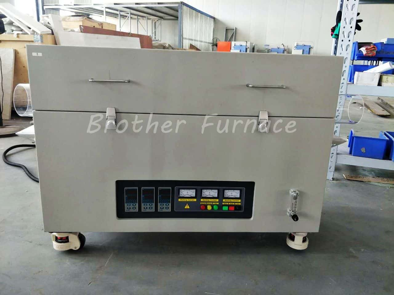 3-zone tube furnace