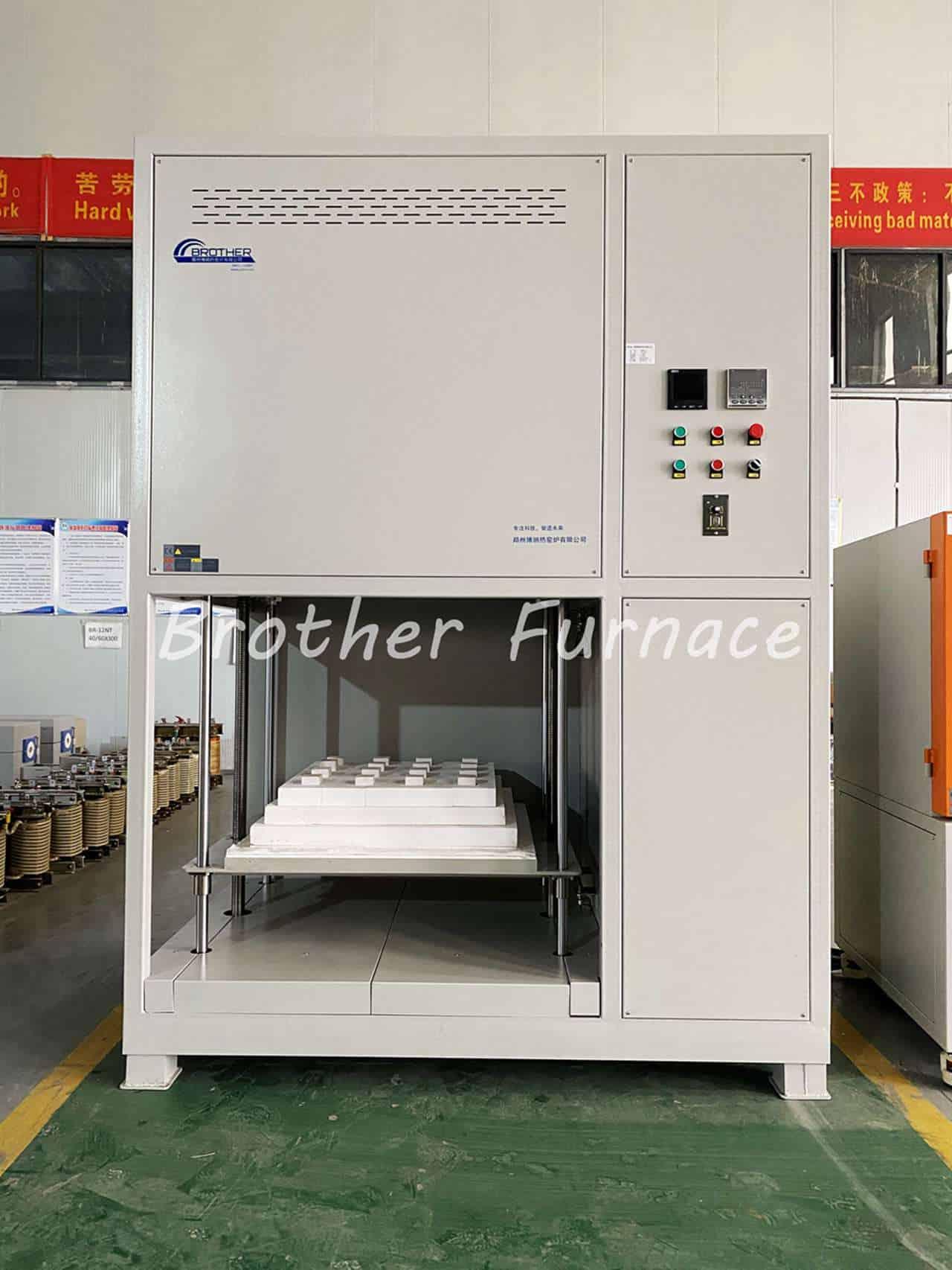 bottom loading furnace